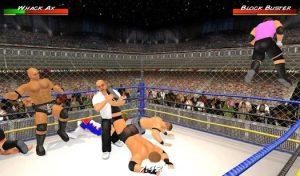 Wrestling Revolution 3D offline apk game download