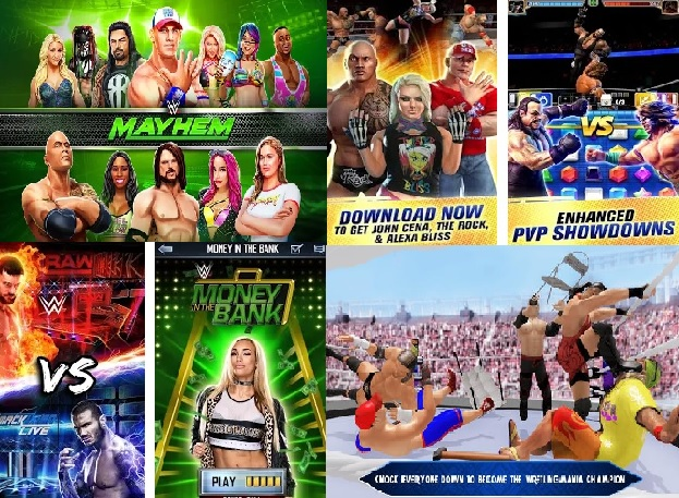 best android wrestling wwe games to download