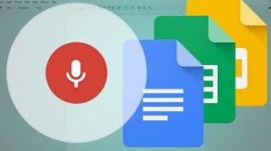 google docs voice typing software