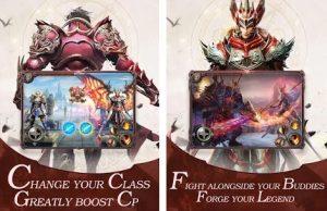 War of Rings - Awaken Dragonkin action android game