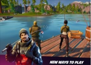 fortnite action game for ios