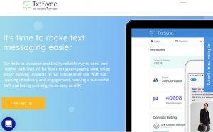 Txtsync - the best SMS marketing and bulk SMS API