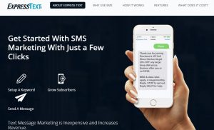express text - the cheapest sms marketing software