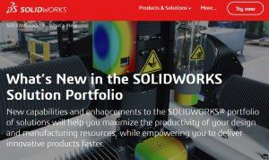 solidworks 3d software 2020