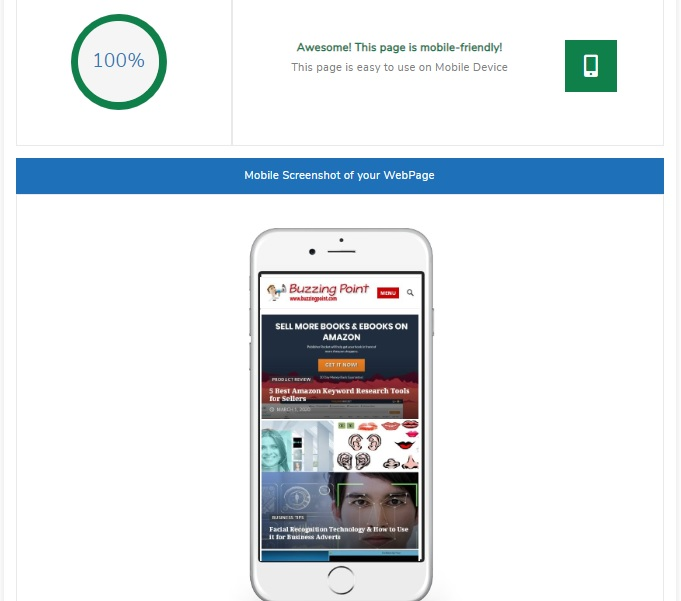 how to run mobile-friendly test for your website