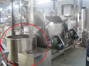 peanut frying machine - batch type