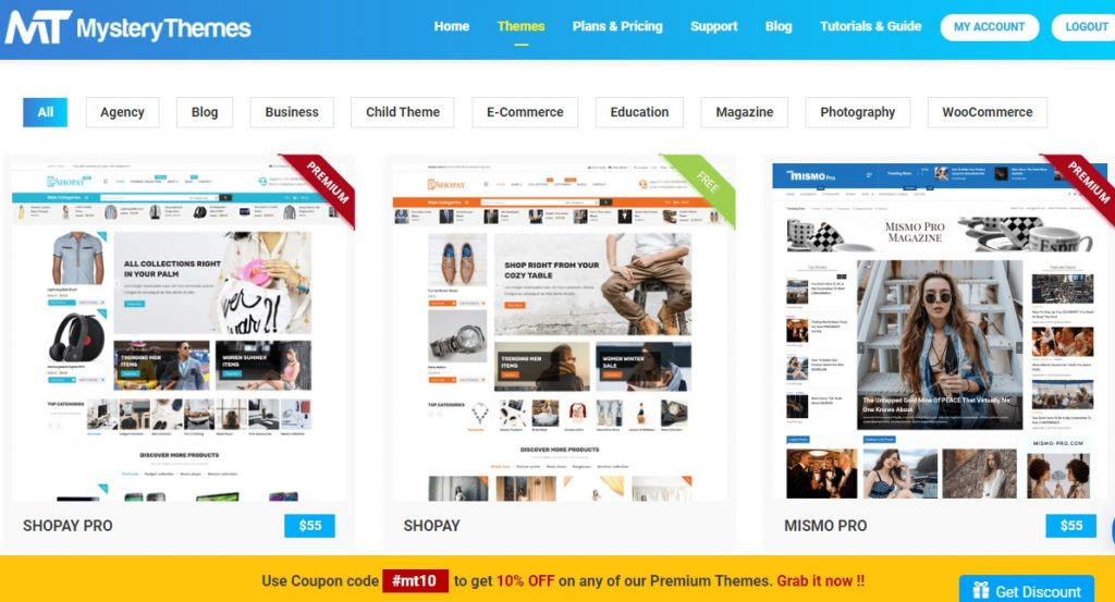 Latest mystery themes seo optimized wordpress templates