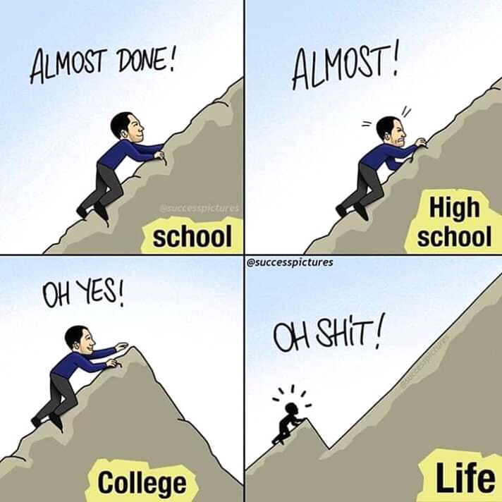 Real Life vs school