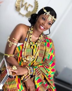 african brides attire for traditional wedding - instagram