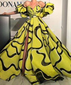 african design ankara mermaid gowns - dabonke