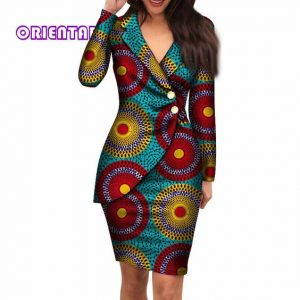 african office style v neck ladies suit - aliexpress