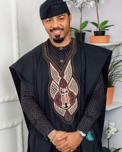 agbada outfit rocked by ramsey nouah on his 48th birthday - pinterest