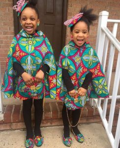 amazing ankara dress for two sisters and a matching hair pack - africanankarastyle blogspot