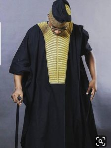 ankara agbada for real chiefs with Y shaped embroidery - etsy