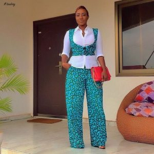 ankara palazzo trousers with short waist coat - ankaracollections