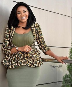 ankara wedding styles for curvy ladies - weddingdigestnaija