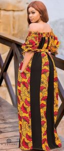 beautiful aso oke long gown for young mothers - momoaffrica