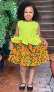 beautiful girls ankara ready made dress for girls - fashionruk