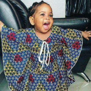 butterfly ankara style for baby girls - brandedgirls