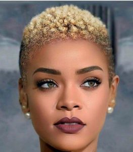 celebrity short afro hairstyle - stylendesigns