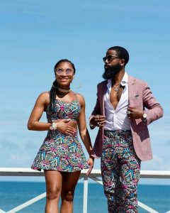 chic way young couples can rock kente outfit for outing - nigeriaweddingblog