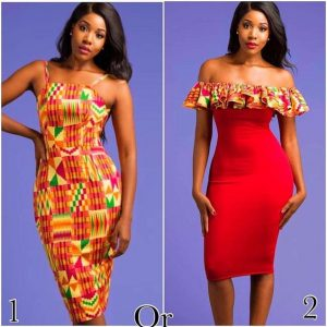 choose one kente gown style for party 1 or 2 - makeupwd