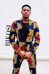 complete long sleeve african print suit for men - etsy