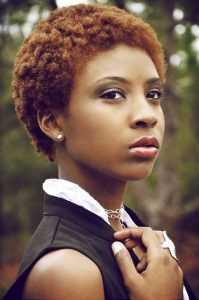 crazy girls unique short afro hairstyle - goodhairdiaries blogspot