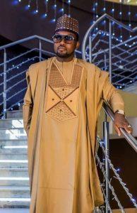fine guys brown ankara agbada - etsy