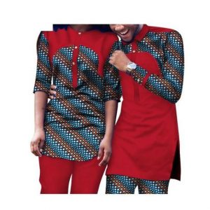happy couples plain and pattern senator style - afrinspiration