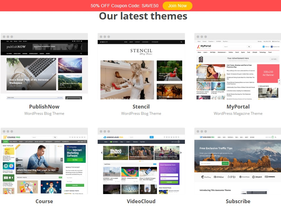 happy themes - for best affordable seo optimized wordpress themes
