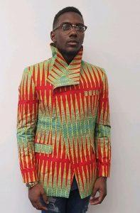 high collar ankara jacket for men - etsy