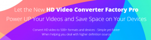 how to use the new hd video converter factory pro