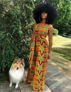 kente palazzo jumpsuit for ladies - etsy