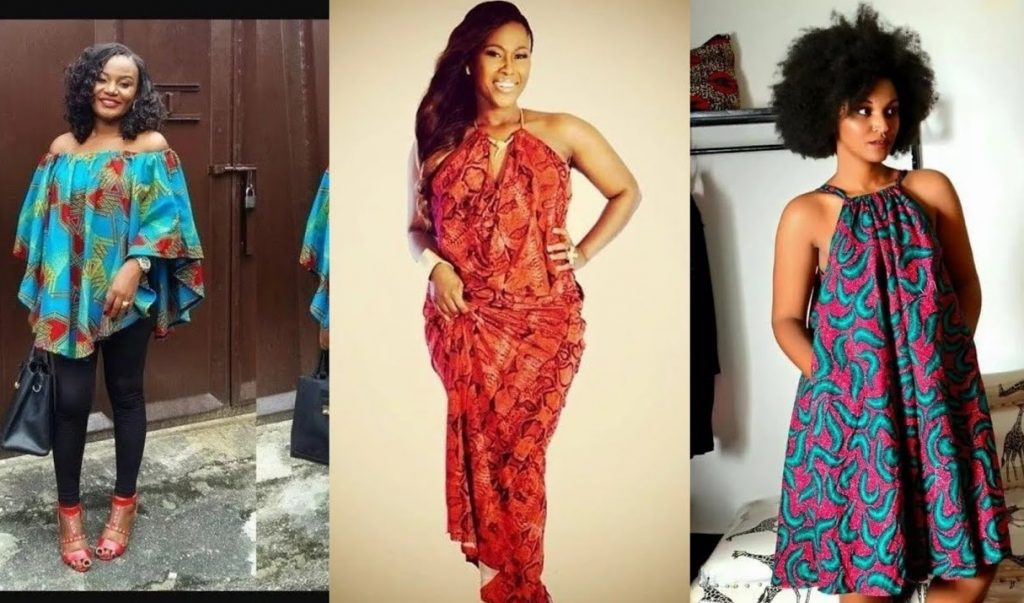latest ankara gowns for pregnant women