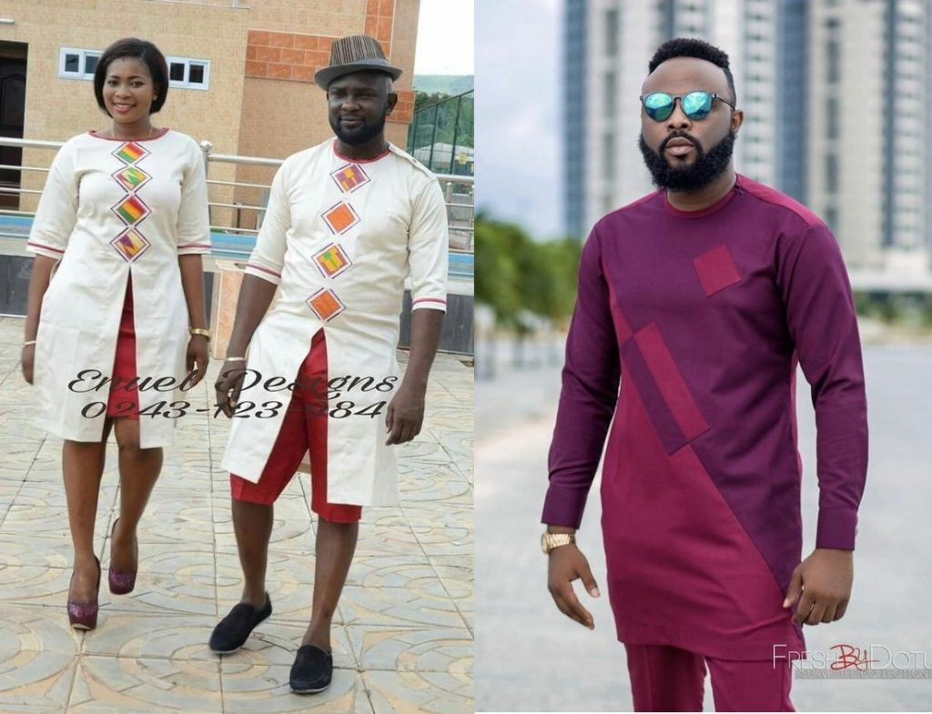 latest ankara senator styles for men and ladies