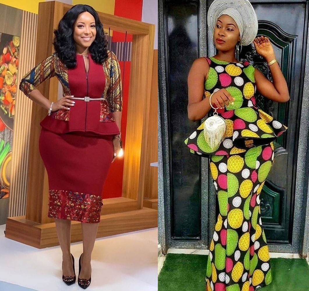 20 Latest Ankara Skirt and Blouse Fashion Styles for Ladies