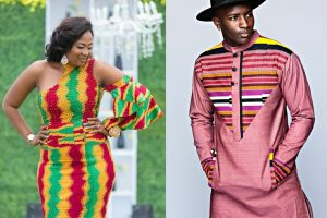 latest ghana kente styles for men, ladies and couples
