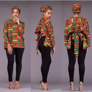 latest kente stylish top for first date or party - afrocosmopolitan