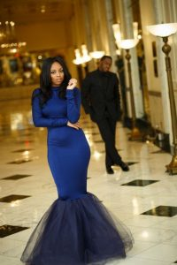 let the lady walk ahead while the man admires her front behind - blackbride