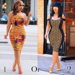 make another choice from these hot kente gowns 1 or 2 - zanaposh