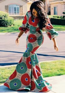 matured ladies ankara mermaid gown - etsy