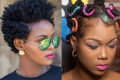 natural afro hairstyles for ladies and kids