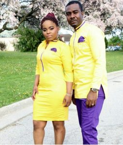 newly married couples plain ankara senator style - pinterest