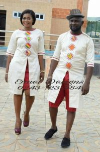 old school matching couple senator top with short an skirt - amzn to