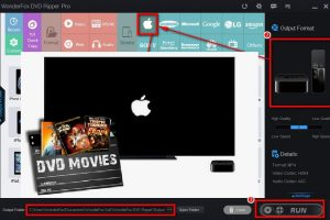 play dvd collection on apple without loss of quality
