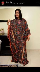 queen mothers embroidered ankara maxi for special occasions - limametti