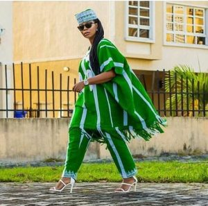 rugged ladies ankara agbada style with glasses - afrocosmopolitan