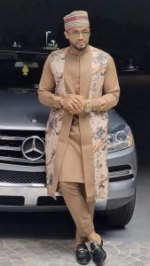 senator suit ankara outfit for classy men - idealeazy