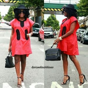 short plain ankara agbada with hat for classy ladies - brandedgirls